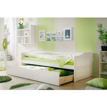 Sofabett Mit Auszug Mod817471 Kiefer Weiss Hc Möbel