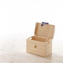 Spielzeugtruhe Mod.886798 Birke Natur