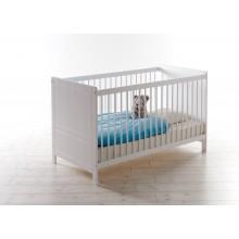 Babybett / Gitterbett Mod.886927 Kiefer Weiss