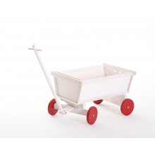 Bollerwagen Mod.889157 Kiefer Weiss