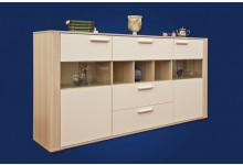 Sideboard Mod.K406 Esche/Weiss