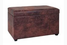 Sitztruhe Mod. 30886 Vintage-Braun