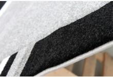 Teppich Läufer 80 x 300 cm Mod.6291A Grau