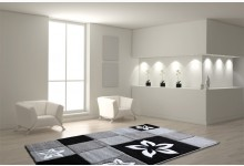 Teppich 160 x 230 cm Mod.6292A Grau