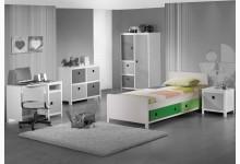 Einzelbett Mod.800589 Grün