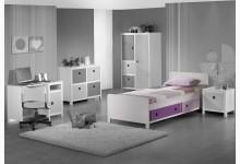 Einzelbett Mod.800602 Lila