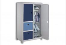Kleiderschrank Mod.800626 Blau