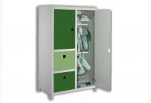 Kleiderschrank Mod.800633 Grün