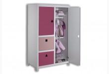 Kleiderschrank Mod.800640 Rosa
