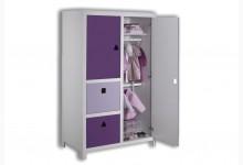 Kleiderschrank Mod.800657 Lila