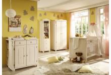 Babyzimmer Mod.805898 Kiefer Weiss