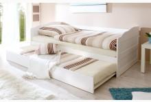 Sofabett mit Auszug Mod.817471 Kiefer Weiss