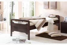 Einzelbett 90x200 Mod.817488 Buche Braun
