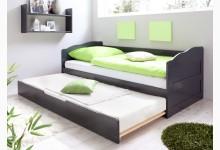 Sofabett mit Auszug Mod.837332 Kiefer Anthrazit