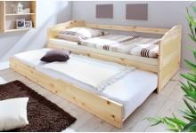 Sofabett mit Auszug Mod.837349 Kiefer Natur