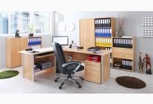 Büro- & Arbeitszimmer 7-teilig Bigset Mod.839626 Buche Natur
