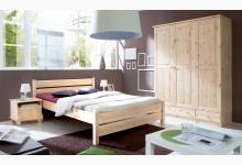 Einzelbett 140x200 Mod.855763 Kiefer Natur
