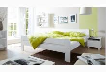 Doppelbett 180x200 Mod.857675 Kiefer Weiss