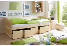 Sofabett mit 5 Schubkästen Mod.877284 Kiefer Natur