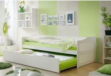 Sofabett mit Auszug Mod.877307 Kiefer Weiss
