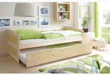 Sofabett mit Auszug Mod.877314 Kiefer Natur
