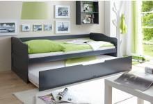 Sofabett mit Auszug Mod.877321 Kiefer Anthrazit
