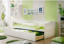 Sofabett mit Schubkasten Mod.877338 Kiefer Weiss