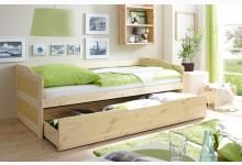 Sofabett mit Schubkasten Mod.877345 Kiefer Natur