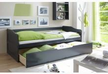 Sofabett mit Schubkasten Mod.877352 Kiefer Anthrazit
