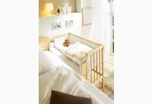 Baby Anstellbett Mod.877819 Kiefer Natur