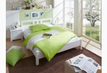 Einzelbett 140x200 Mod.877918 Kiefer Weiss