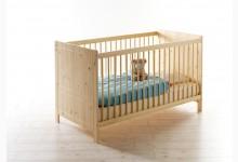 Babybett / Gitterbett Mod.886910 Kiefer Natur