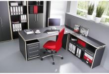 Büro- & Arbeitszimmer 4-teilig Mod.GM113 Anthrazit