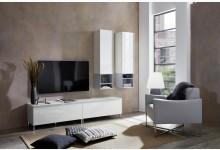 6tlg. Wohnzimmerset - Weiß GM1273