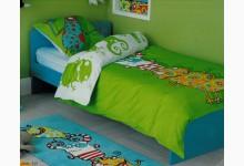Einzelbett - Jugendbett 190er Grün BT819