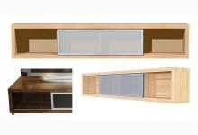 Lowboard 198 cm breit Birke TV677