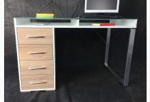 Schreibtisch - Arbeitstisch Weiß Sonoma Eiche T209