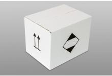 40er Faltkarton Versandkarton Weiß 330 x 260 x 250 mm