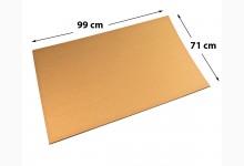 15x Kartonplatte 710 x 990 mm extra verstärkt Palettenzwischenlage Wellpappe Zuschnitt f Palette
