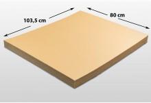 15x Kartonplatte 800 x 1035 mm Palettenzwischenlage Wellpappe Zuschnitt f Palette