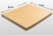 20x Kartonplatte 750 x 840 mm Palettenzwischenlage Wellpappe Zuschnitt f Palette