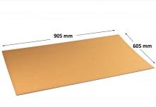 10x Kartonplatte 605 x 905 mm extra verhärtet Wellpappe Zuschnitt f Palette