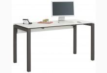 Schreibtisch MJ632 Metall Anthrazit - Weiss Matt