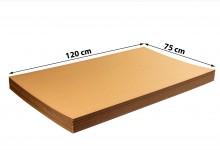 15x Kartonplatte 1200x750 mm Palettenzwischenlage Wellpappe Zuschnitt für Europalette