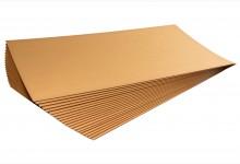 15x Kartonplatte 1295x750 mm Palettenzwischenlage Wellpappe Zuschnitt für Europalette