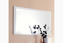 Wandspiegel - Spiegel - Flurspiegel Weiß Hochglanz SO290WG