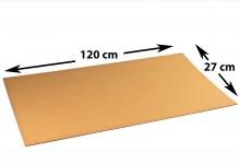 35x Kartonplatte 270 x 1200 mm Wellpappe Zuschnitt Bastelkarton