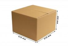 20x Faltkarton - Versandkartons doppelwellig 410 x 290 x 410 mm