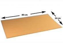 53x Kartonplatte 340 x 800 mm Wellpappe Zuschnitt Bastelkarton