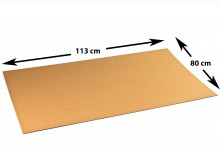 10x Kartonplatte 800 x 1135 mm extra verhärtet Palettenzwischenlage Wellpappe Zuschnitt für Europalette